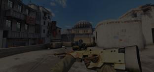 Скриншот из игры кс го AWP Dragon Lore