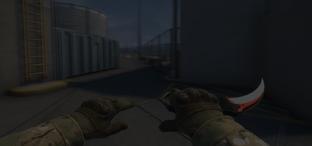 Скриншот из игры кс го Karambit Autotronic